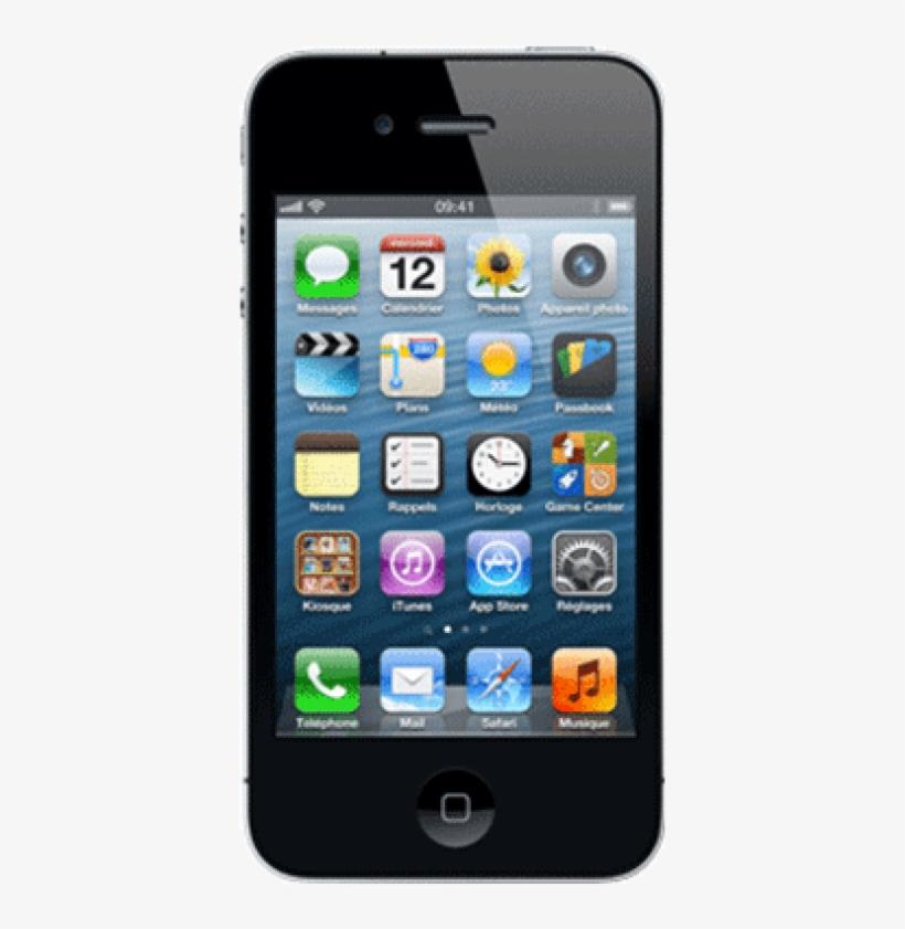 Iphone 4s 16go 2 Large - Apple Iphone 4s 8gb Black, transparent png #2760992