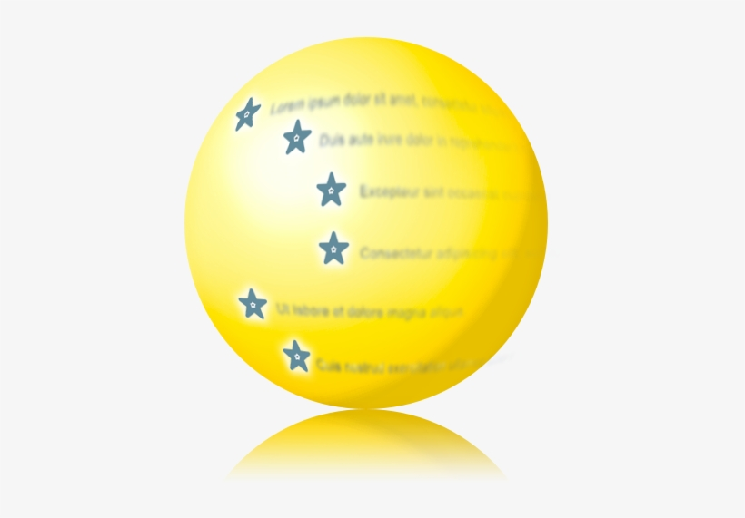 Gold Outline Ball - Circle, transparent png #2761053