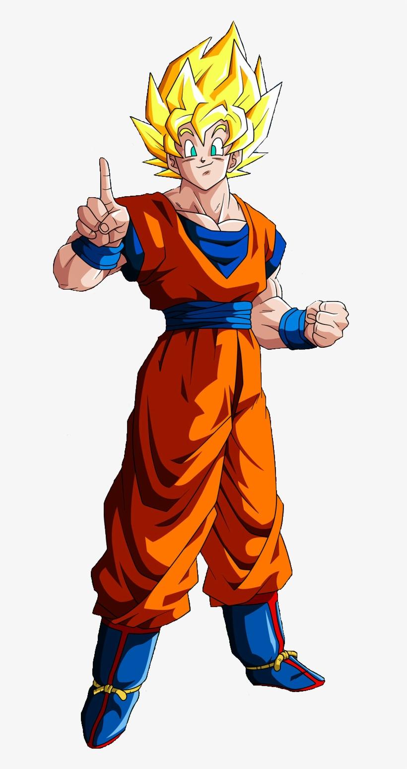 Goku Clipart Full Body Imagens De Goku Ssj Free