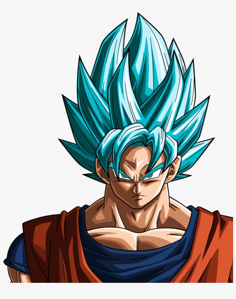 Super Saiyan Blue Goku By Rayzorblade189 - Dragon Ball Z Goku Super Saiyan Blue, transparent png #2761499