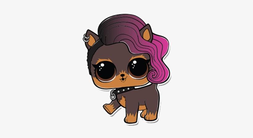 Lol Pet Ruff Rocker - Lol Doll Ruff Rocker Coloring Page, transparent png #2763354