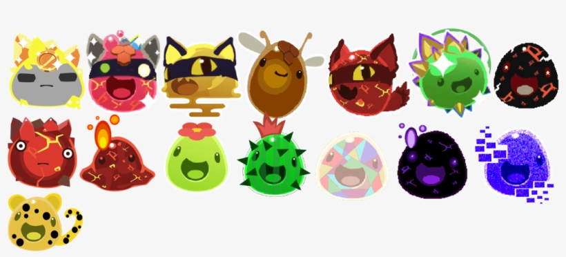 Slime Family Reunion Copy 6 Slime Rancher All Ornaments