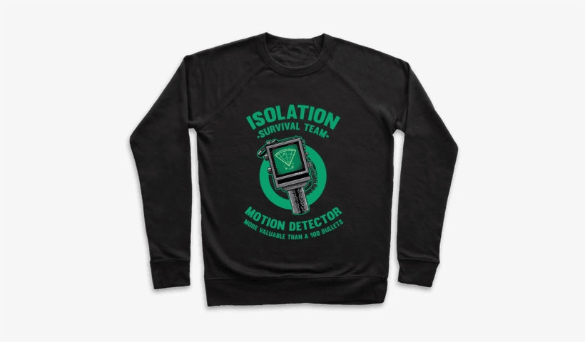 Isolation Survival Team Motion Detector Pullover - Smoking Weed Status Hd, transparent png #2763894