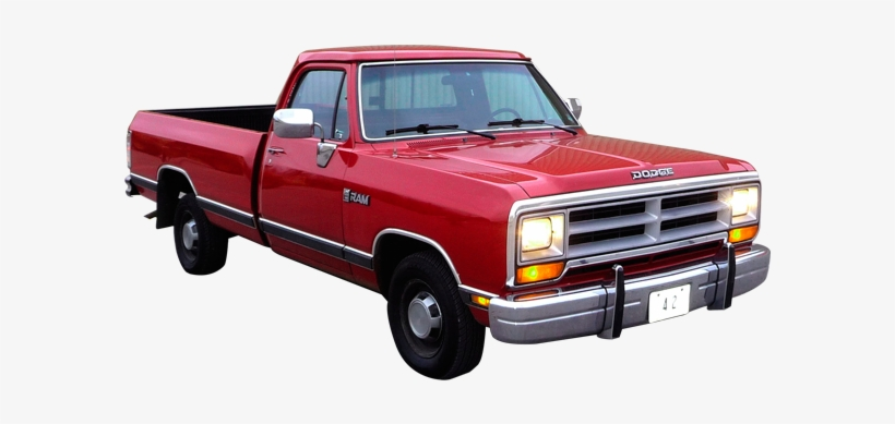 1989-1993 Dodge - American Pick Up Truck, transparent png #2766148