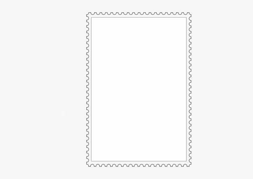 Postage Stamp Border Clipart