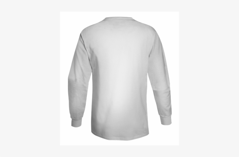 Blank White T Shirt Png 5586 Tagless® Long Sleeve T-shirt - Long Sleeve T Shirt Back, transparent png #2767083