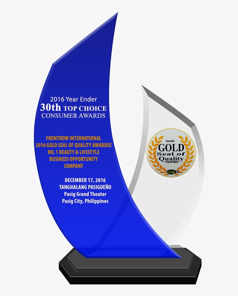 2016 Year Ender 30th Top Choice Consumer Awards Frontrow - Frontrow Awards 2017, transparent png #2767303