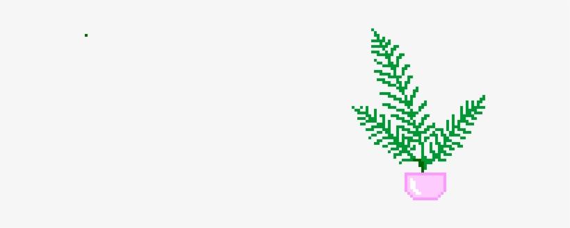 Transparent Pixel Plants Tumblr - Plants Pixel Png - Free