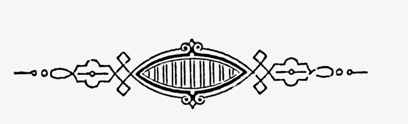 Scroll Clipart Victorian - Transparent Victorian Clip Art, transparent png #2768144