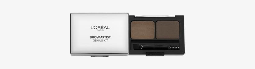 L'oreal Eyebrow Artist Genius Kit - L Oreal Paris Eyebrow Kit, transparent png #2768893