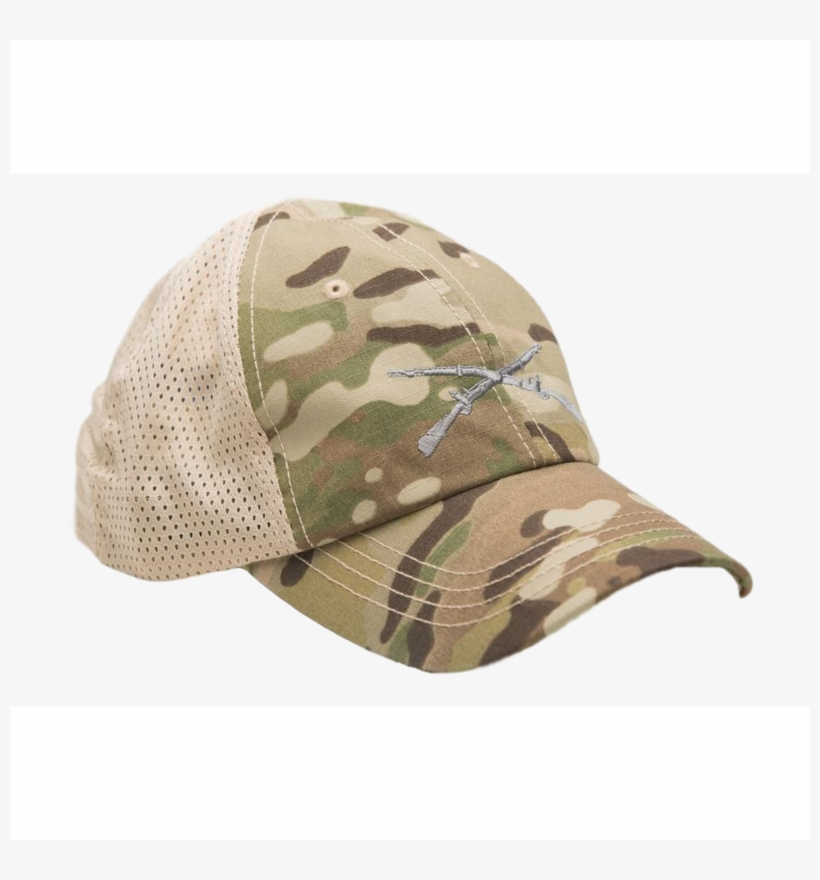 Crossed Rifles Multicam Mesh Back Hat - Condor Mesh Tactical