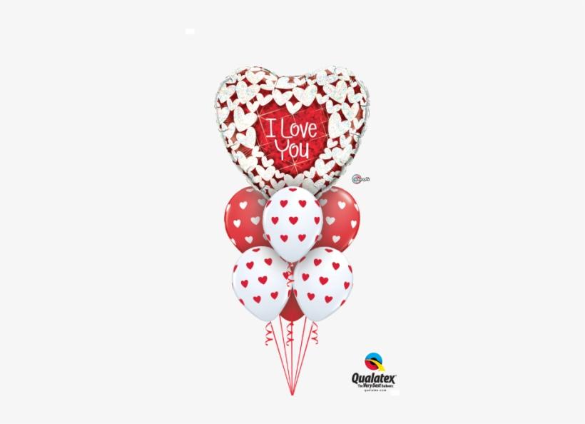 I Love You Glitter Hearts - Do Love You Glitter, transparent png #2772004