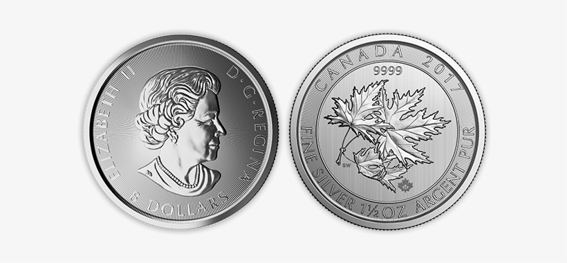 Silver Canadian Maple Leaf - Silver Coin, transparent png #2772616