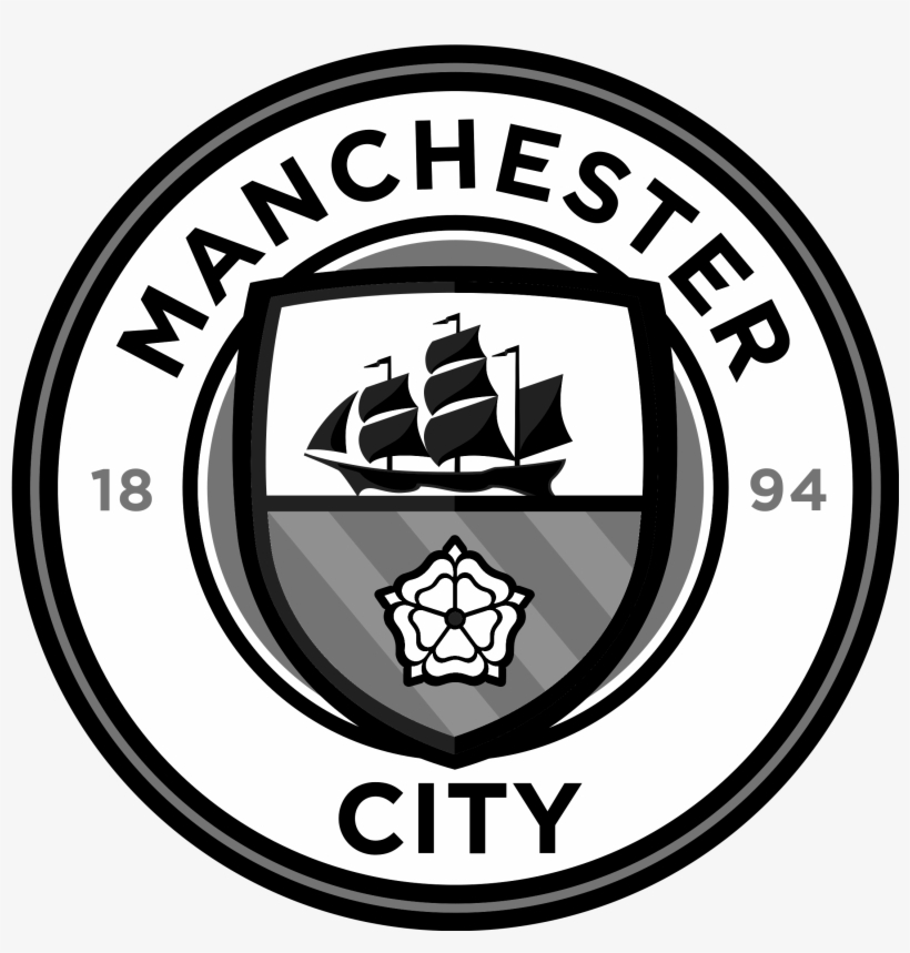 Manchester City Logo Png Transpa Svg Vector Freebie - Logo Manchester City Vector, transparent png #2773224
