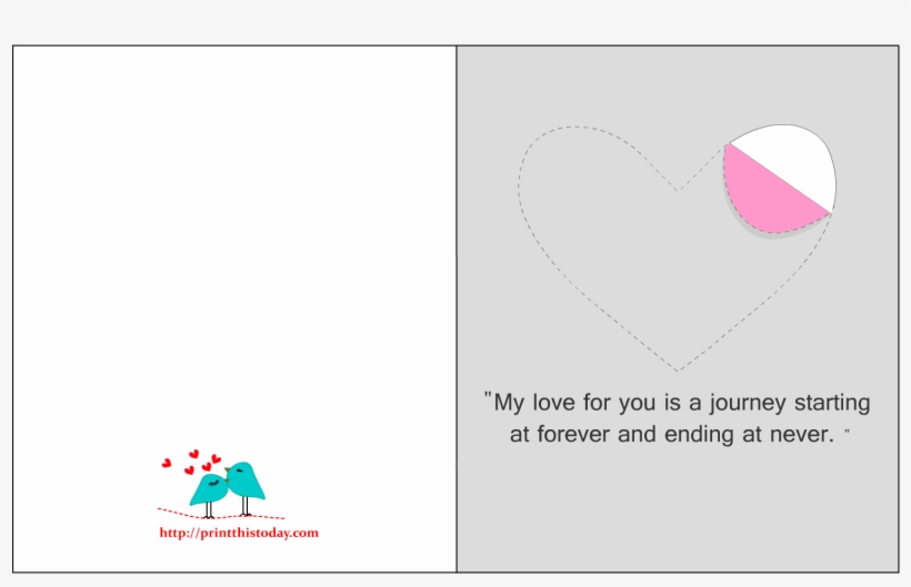 This is a picture of Printable Love Card for diy