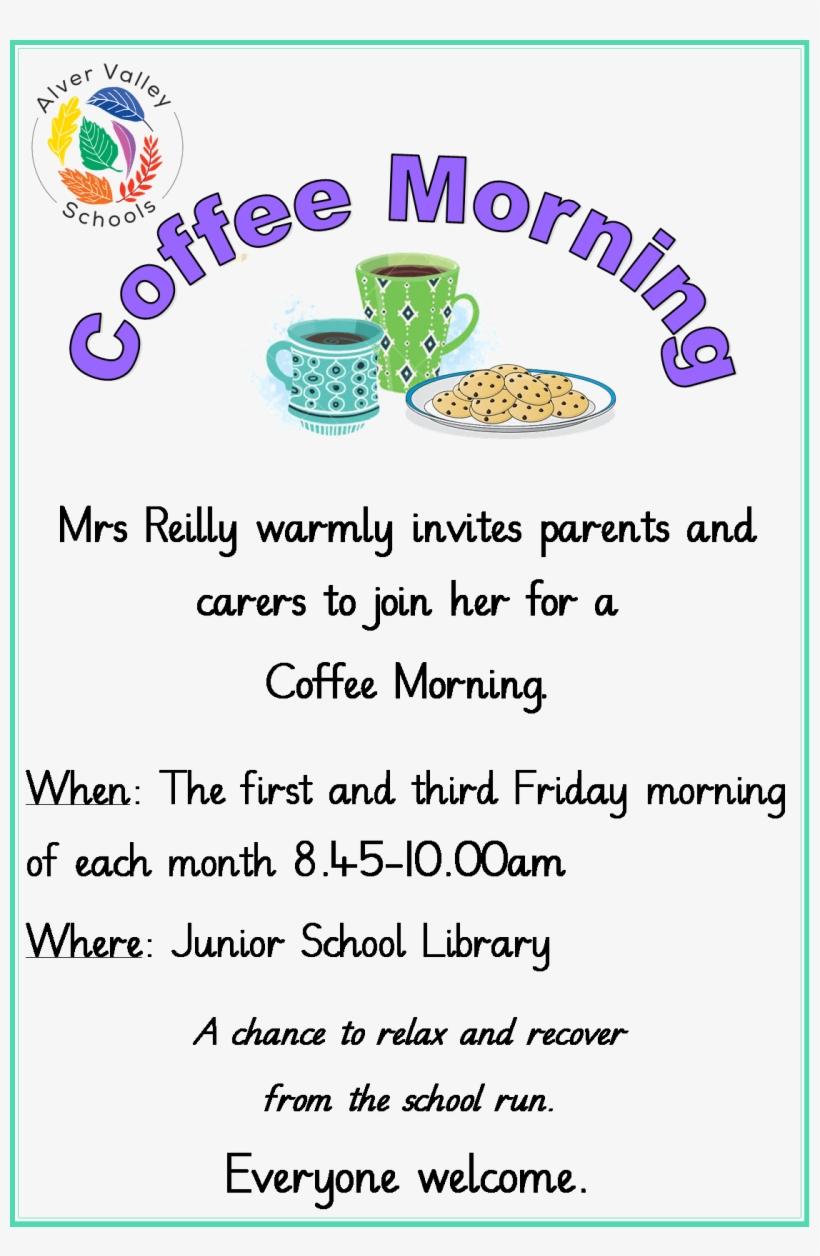 Coffee Mornings School Coffee Morning Poster Free