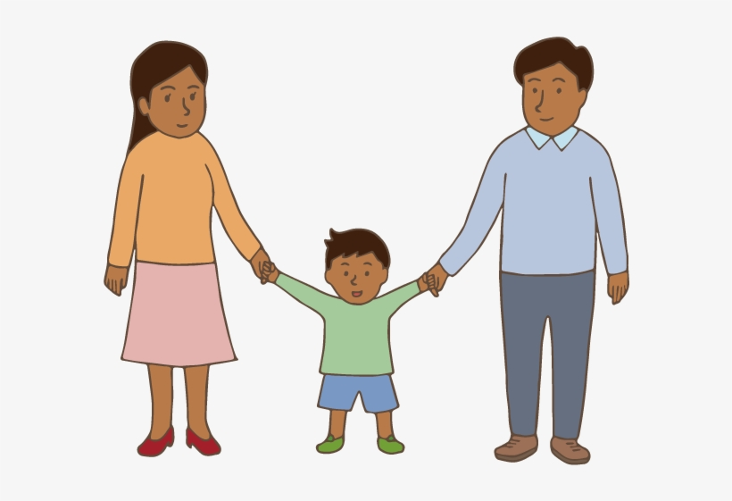 Family - Holding Hands, transparent png #2773788