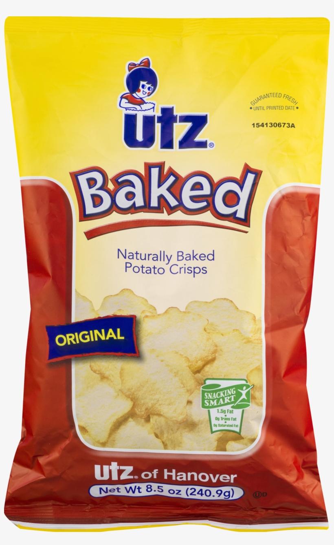 Utz Baked Potato Crisps, Ripple, Sour Cream, transparent png #2774909
