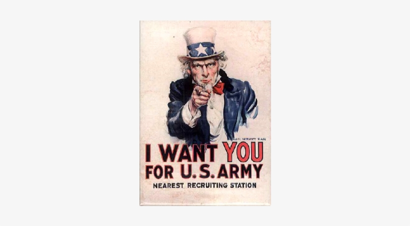 I Want You - Want You For Us Army, transparent png #2776620