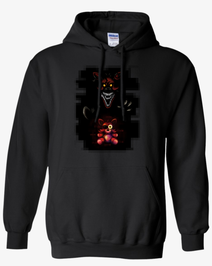 Five Nights At Freddy's Nightmare Foxy 5nightauto Hoodie - Erika Costell Goat Hoodie, transparent png #2777252