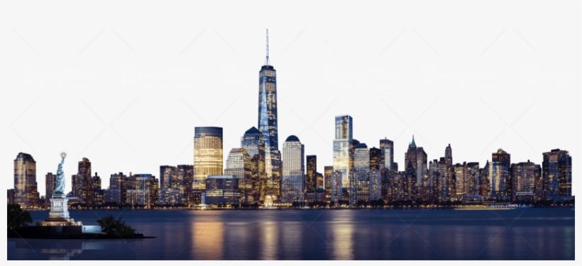 Cartoon City Skyline Png Download - New York City Skyline Png, transparent png #2777571