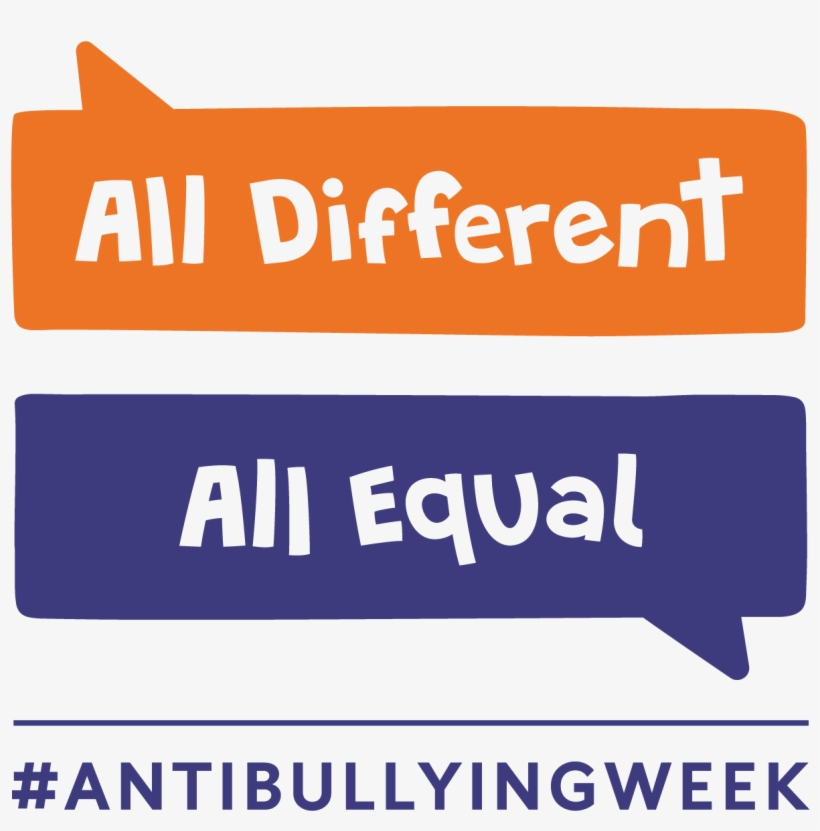Pm 83996 Logo Original 5/18/2017 - Anti Bullying Week 2017 All Different All Equal, transparent png #2778889