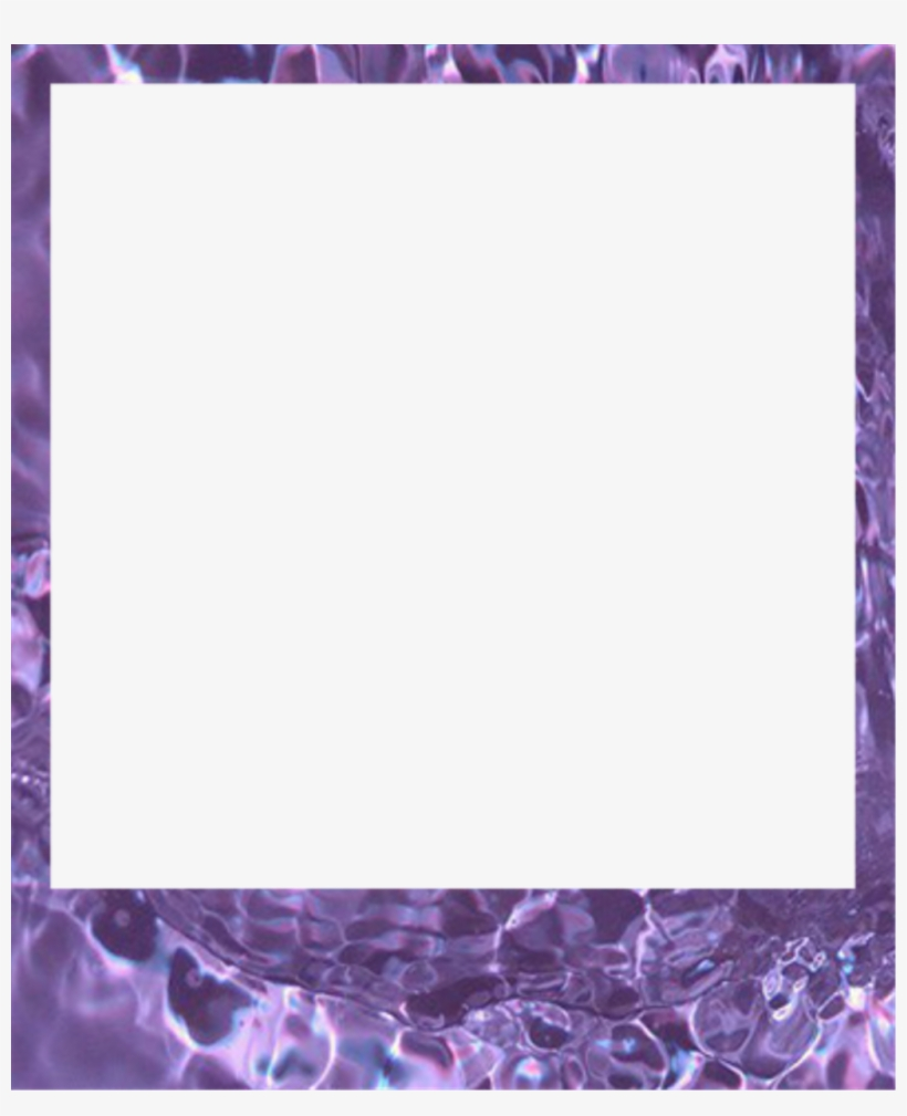 Free Overlay Tumblr Png - Polaroid Frame Png Purple, transparent png #2783076