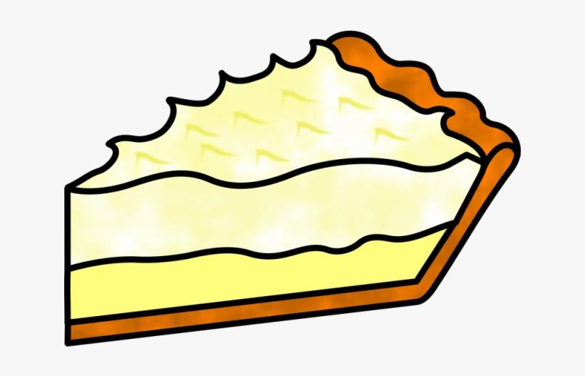 Pies Clipart Slice Pie - Lemon Meringue Pie Drawing, transparent png #2783346