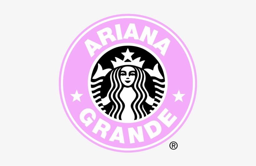 Starbucks Png Logo - Ariana Grande Starbucks Logo, transparent png #2784205