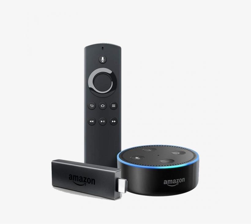 Fire Tv Stick Echo Dot - Amazon Fire Tv Stick With Alexa