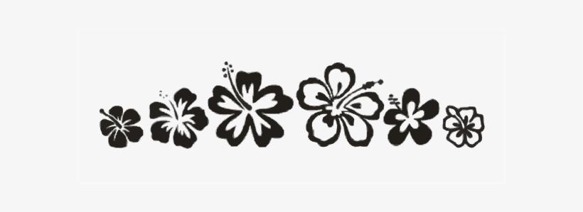 Hibiscus Border Clip Art At Vector Clip Art Online - Clip Arts Flowers Design, transparent png #2791718
