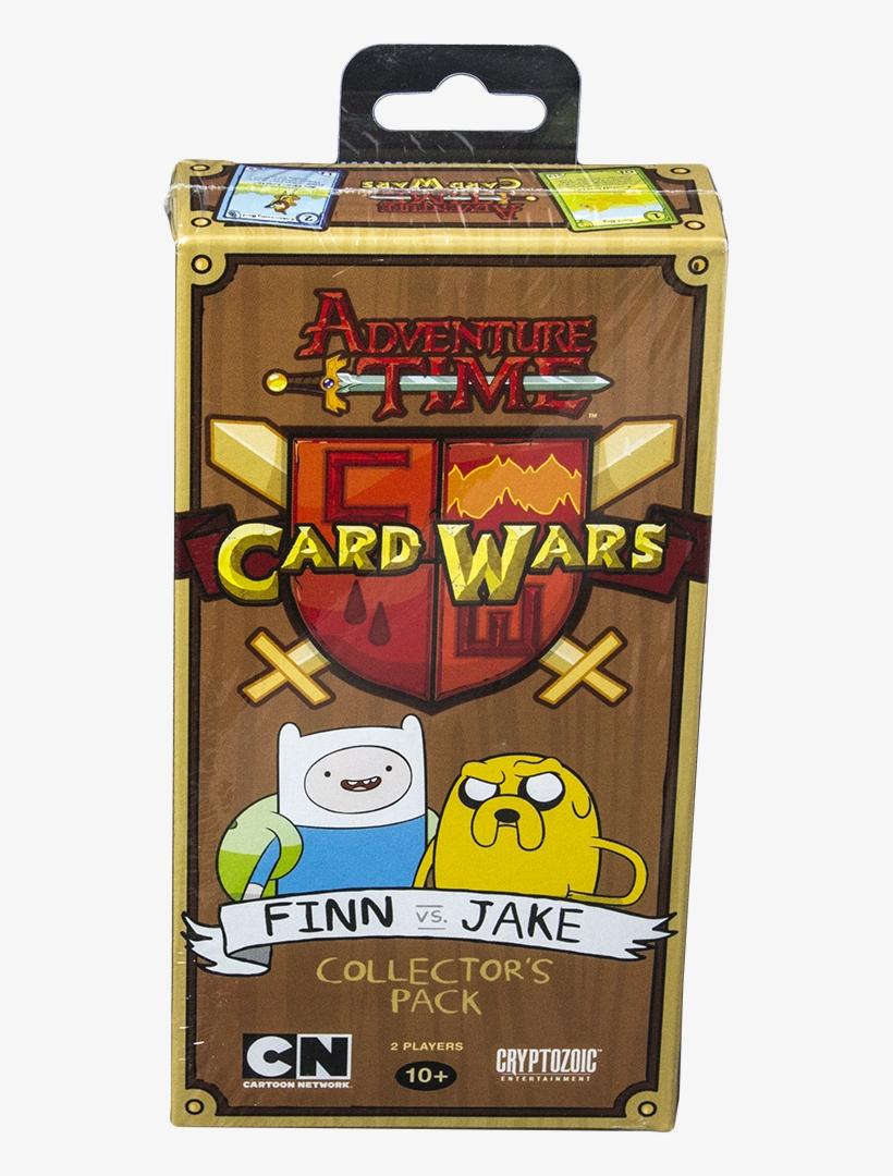 Finn Vs Jake Card Wars Game - Adventure Time Card Wars Collector's Pack Finn Vs Jake, transparent png #2793556