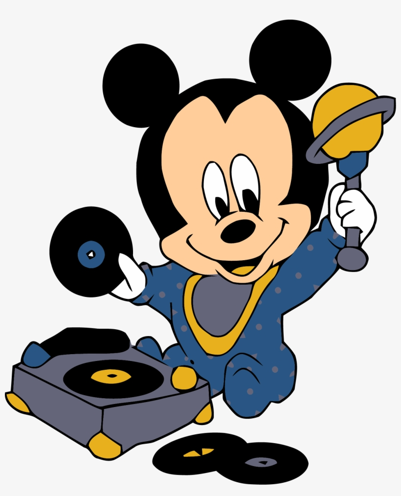 Baby Mickey Dj Music Mouse Wallpaper Clipart Png Gif Mickey Baby