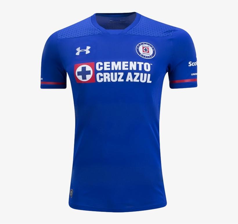 Cruz Azul 17 18 Home Jersey - Jerseys Soccer - Free Transparent PNG ... 02ffcd76dafc