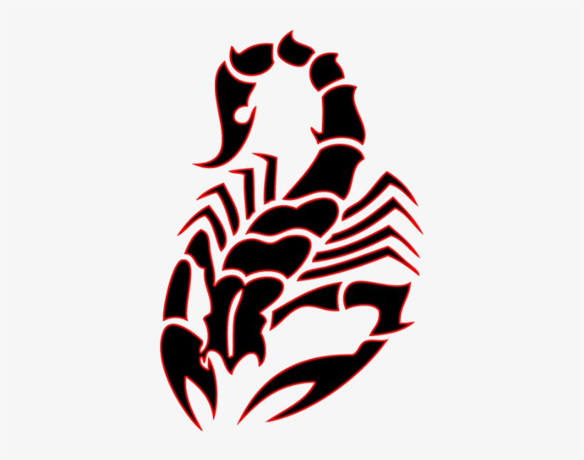 Tribal At Getdrawings Com Free For Personal - Scorpion Tattoo Tribal, transparent png #283229