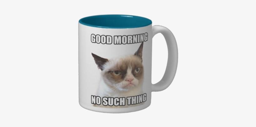 Grumpy Cat Porcelain Mug Go Away, transparent png #283597