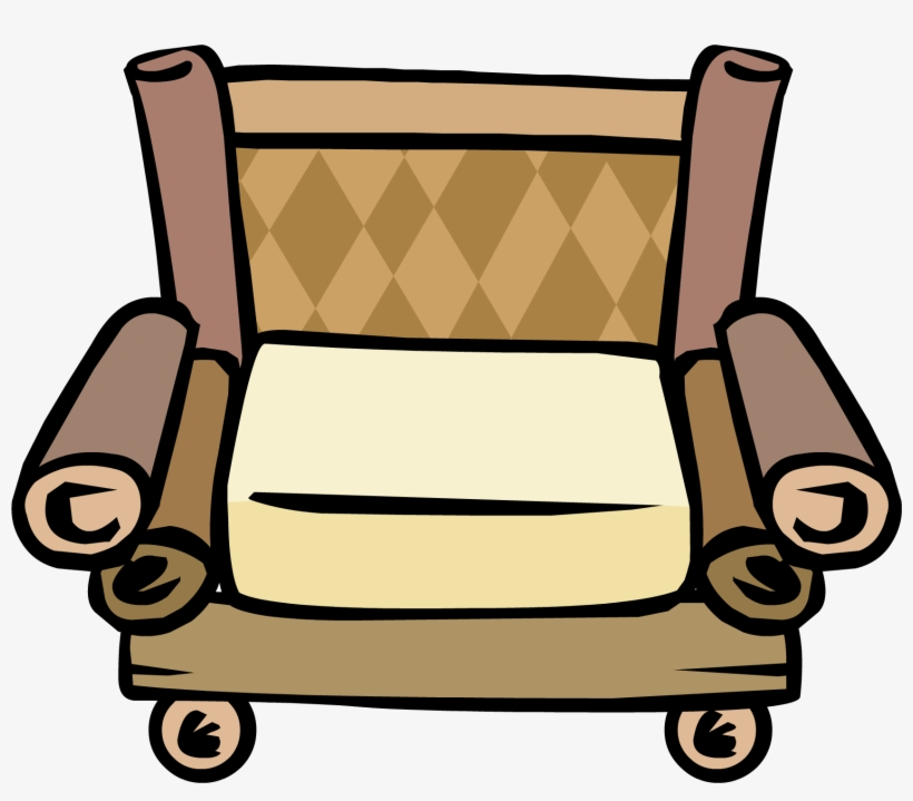 Bamboo Chair - Png - Furniture Club Penguin Chair, transparent png #283939