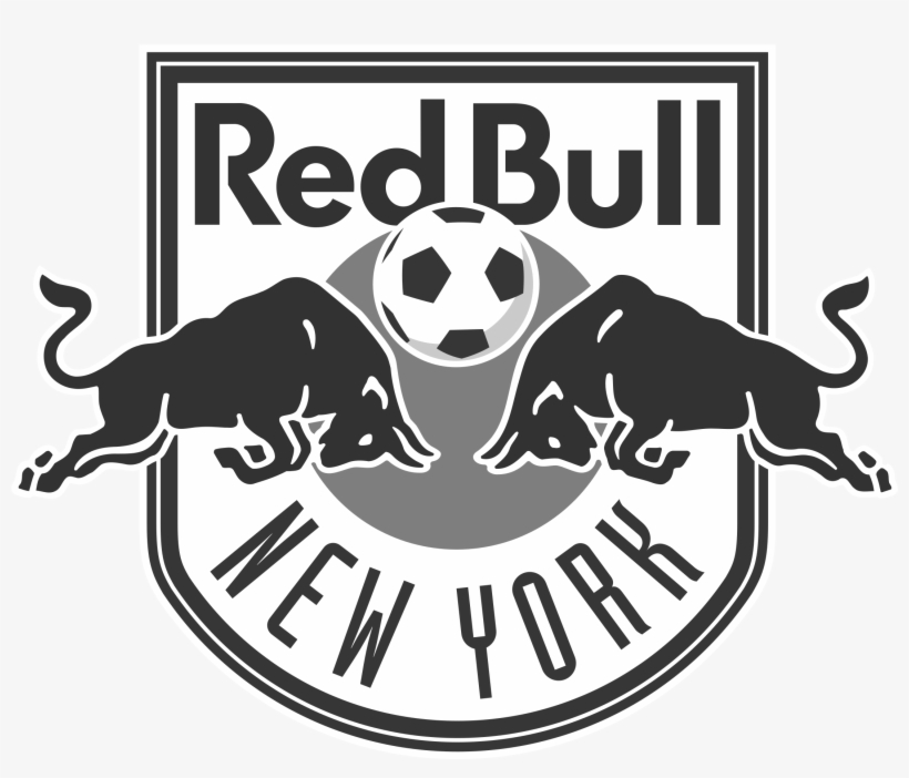 New York Red Bulls Logo Black And White - New York Red Bulls .png, transparent png #284678