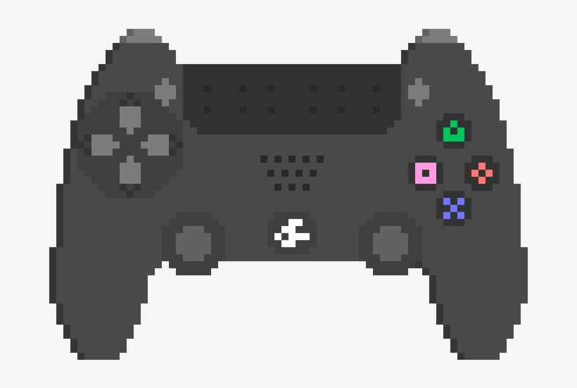 Ps4 Controller - Bendy Pixel Art Gif, transparent png #285617