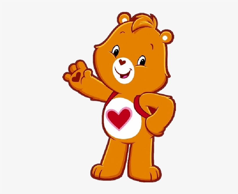 Care Bear Png - Care Bears Adventures In Care A Lot Tenderheart, transparent png #285742