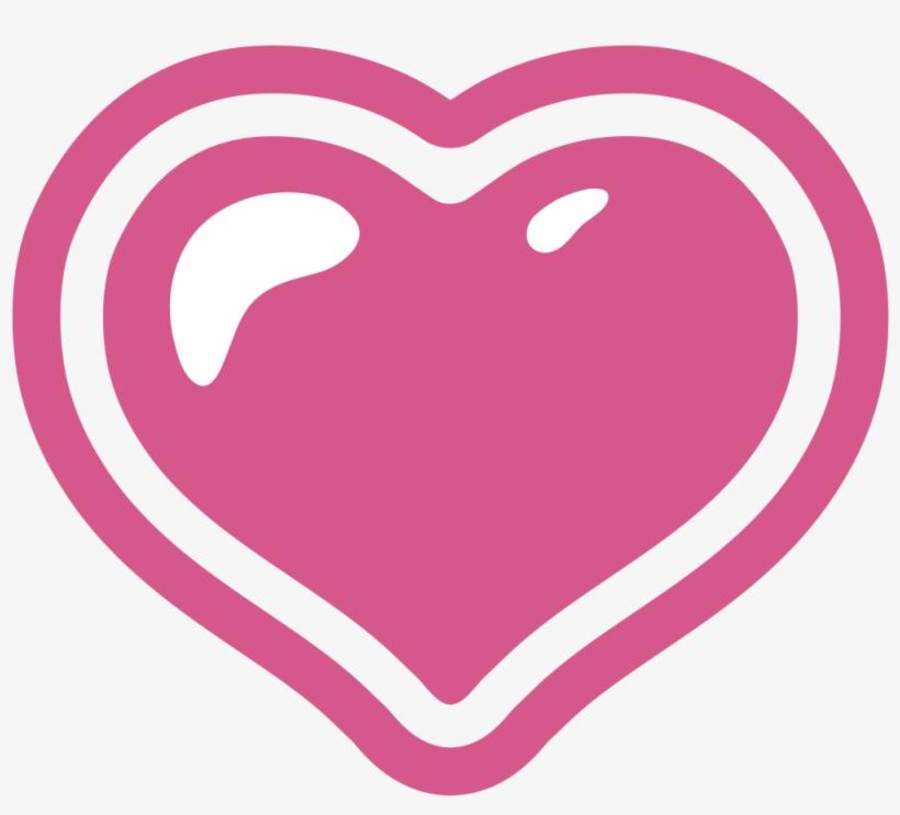 15 Pink Hearts Emoji Png For Free Download On Mbtskoudsalg - Transparent Android Heart Emoji, transparent png #285796