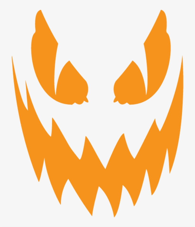 Creepy Clipart Jack O Lantern - Scary Jack O Lantern Png, transparent png #285947