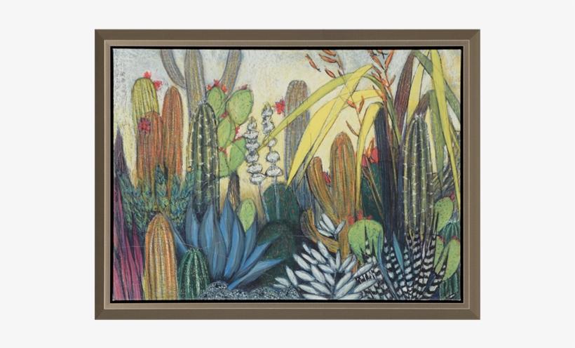 Succulents - Paragon Succulents Framed Painting Print, transparent png #286003