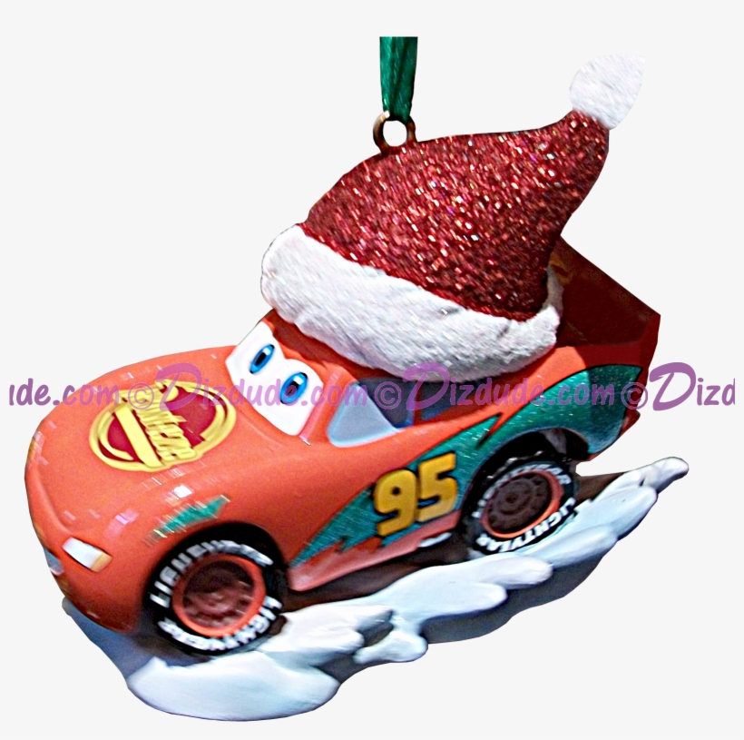 "Front Of The Disney Pixar ""cars"" Lightning Mcqueen - Cars Christmas Lightning Mcqueen, transparent png #286751"