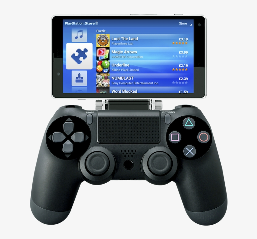 Android Clip Ps4 Controller - Nyko Smart Clip Ps4, transparent png #287738