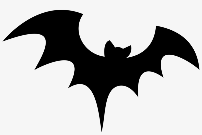 Bat Silhouette Png Image With Transparent Background - Halloween Bat Drawing, transparent png #287944