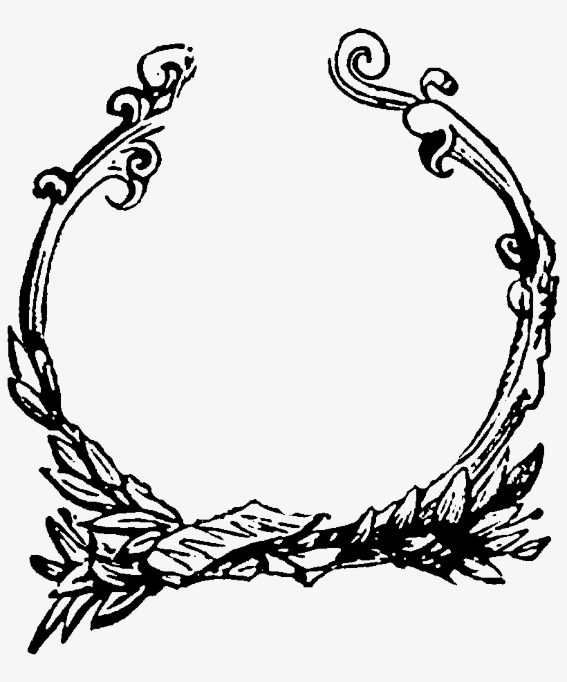 Digital Decorative Circle Frame Image Downloads - Frame Designs For Book, transparent png #289138