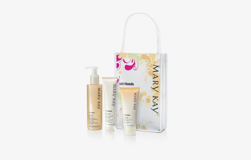 Enjoy One Of Our New Additions, The Vanilla Sugar Satin - Mary Kay Satin Hands Pampering Set ~ Peach, transparent png #2801982