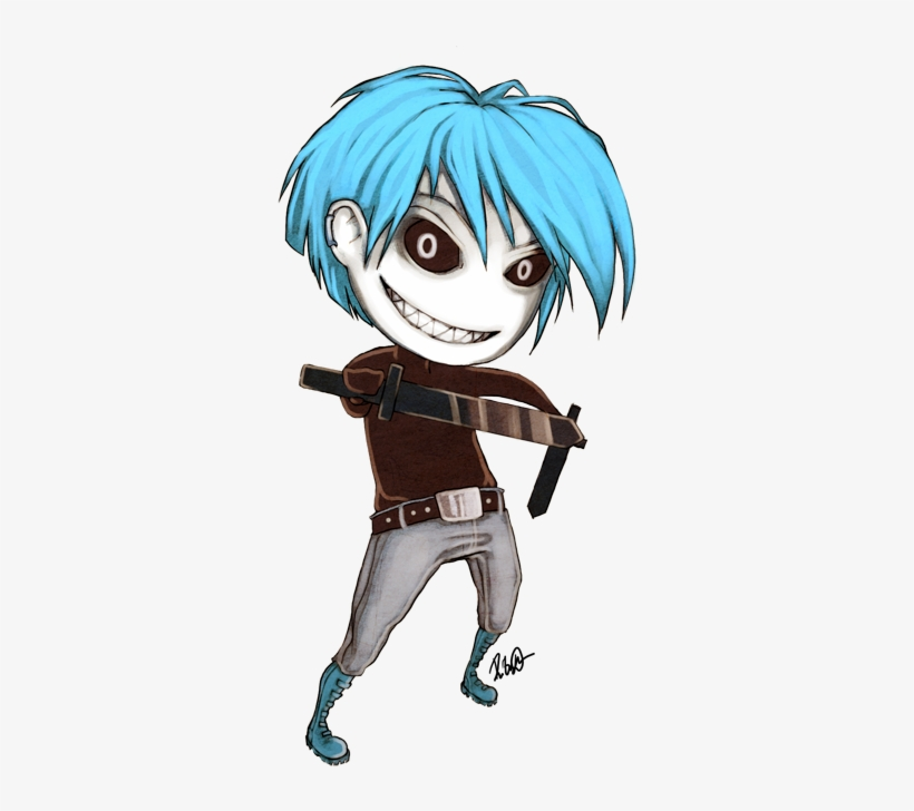 Anime, Blue Hair, And Boy Image - Anime Boy Blue Hair Png, transparent png #2802894