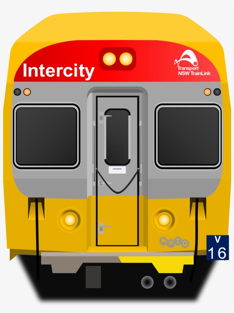 Sydney Trains V Set Front - Nsw Trainlink V Set, transparent png #2803035
